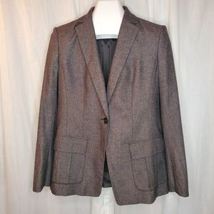 Ann Taylor Tweed Suit Jacket, Size 8